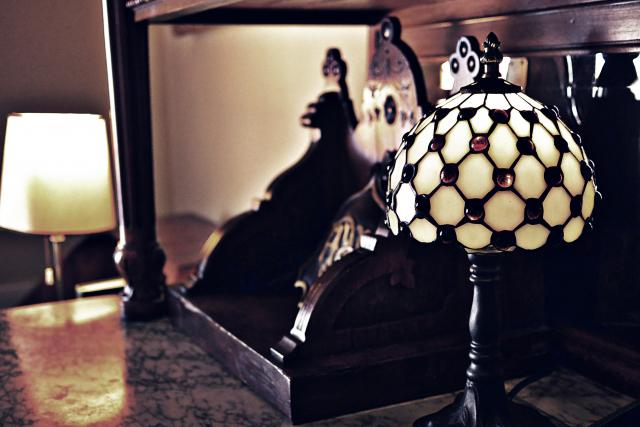 アンティーク風ランプ